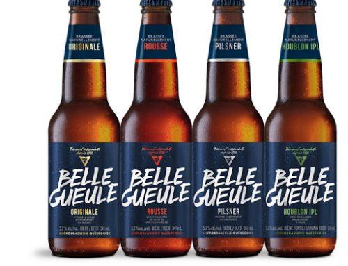 Les bières ''Belle Gueule''